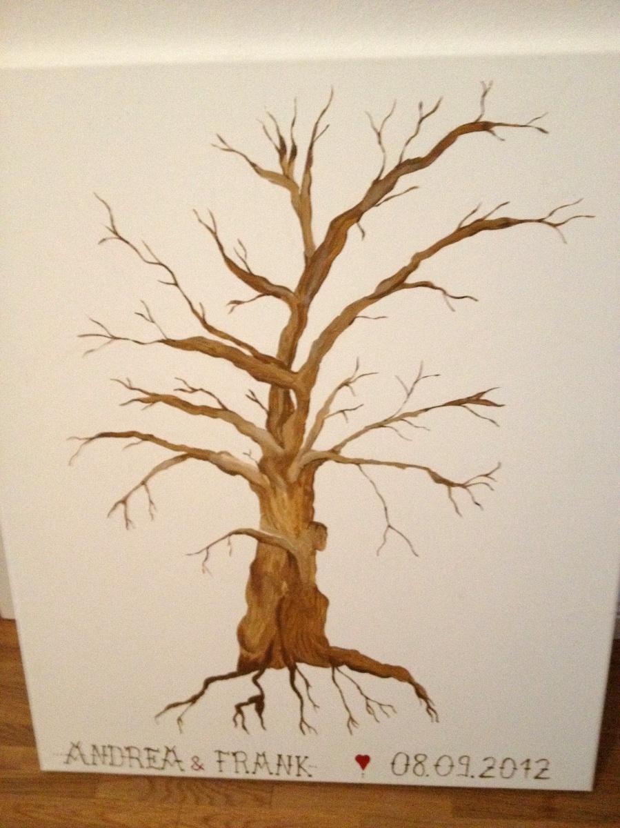 Hochzeitsbaum - handmade by raumzucker