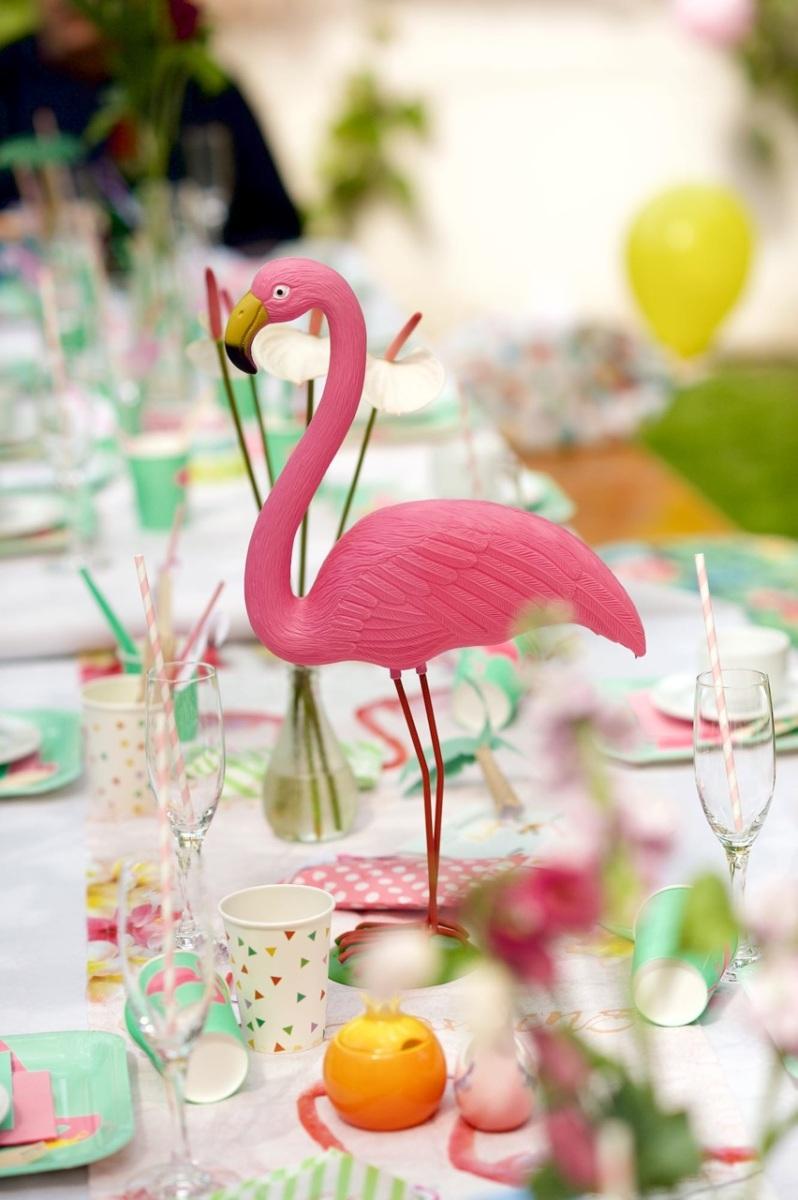 Kindergeburtstag mit Flamingos